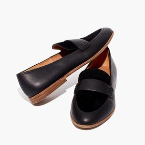 Madewell The Alex Loafer in Leather and Suede
